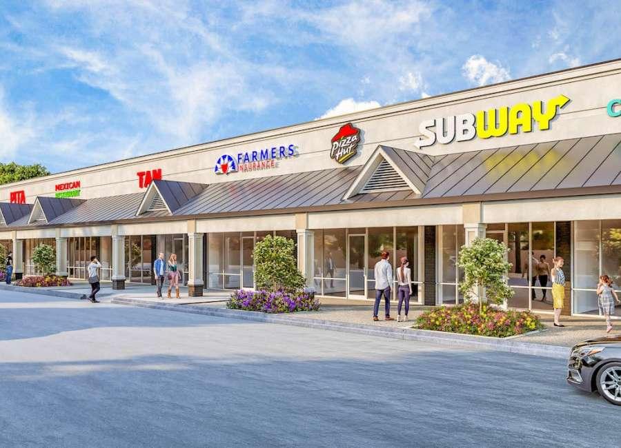 Thomas Crossroads shopping center gets makeover