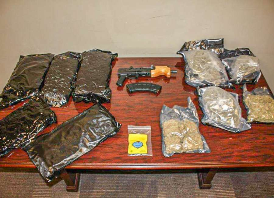 Tint stop leads to Interstate drug bust