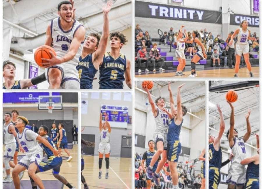 Trinity Christian basketball splits with Landmark Christian at home