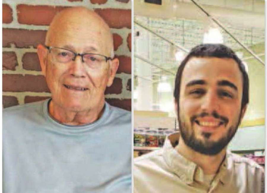 Two men recognized for roles with dialysis patients