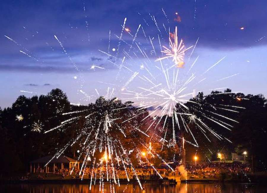 Veteran lights up the sky for SummerGrove on the 4th