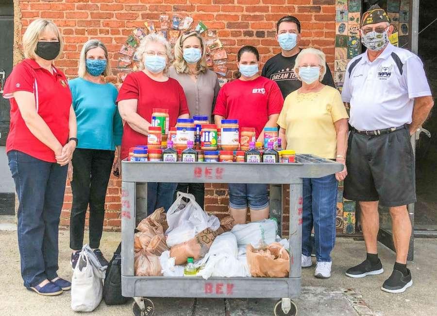VFW donates food to community