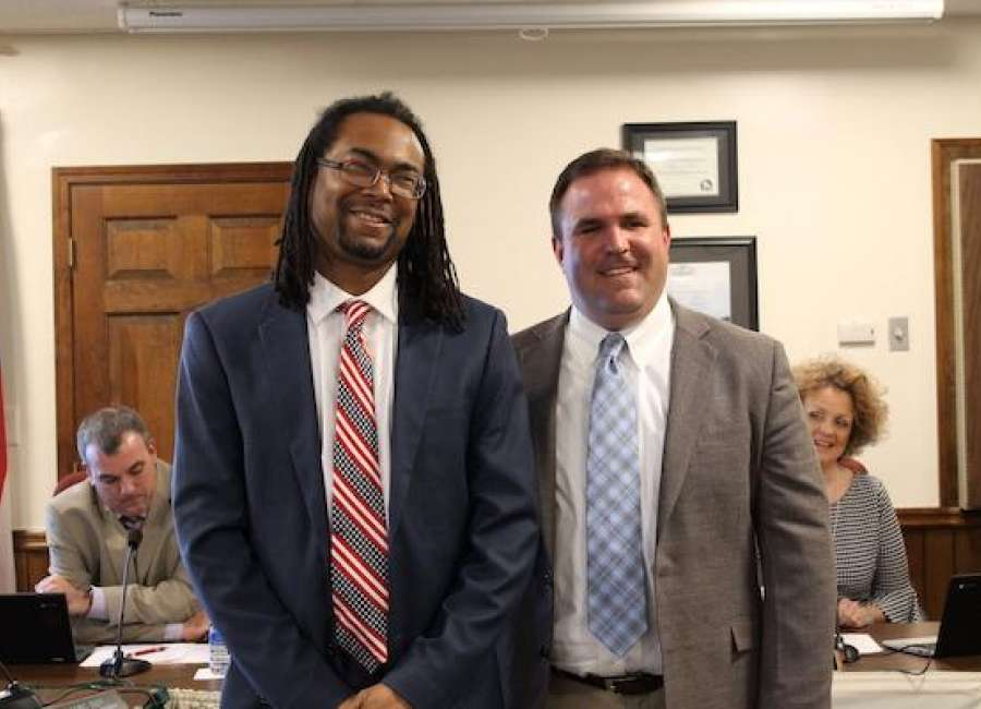 VFW Teacher of the Year honored at school board