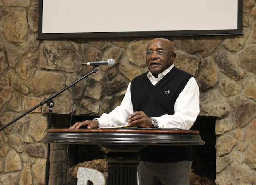 Ware talks about new book at Pastors and Leaders Luncheon