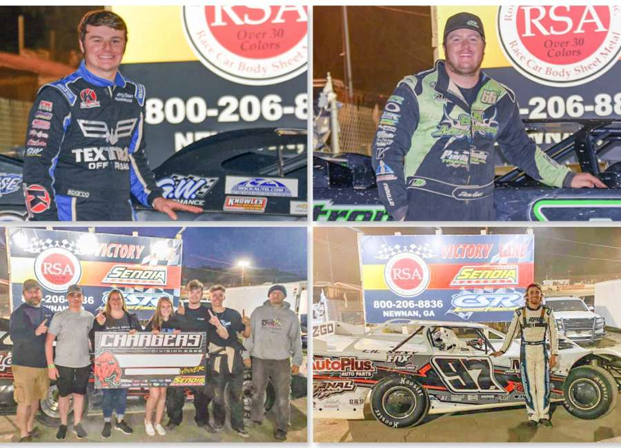 Winger and Knowles turn their fortunes at Senoia Bull Ring Bash