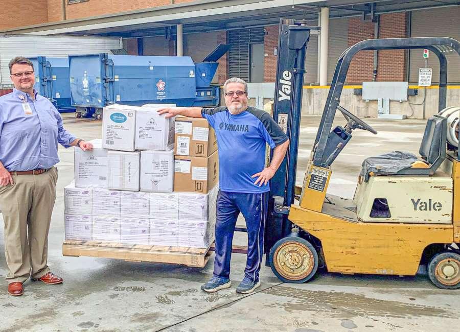 Yamaha donates supplies to hospital