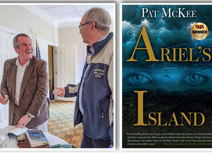 'Ariel' author shares experiences behind legal thriller
