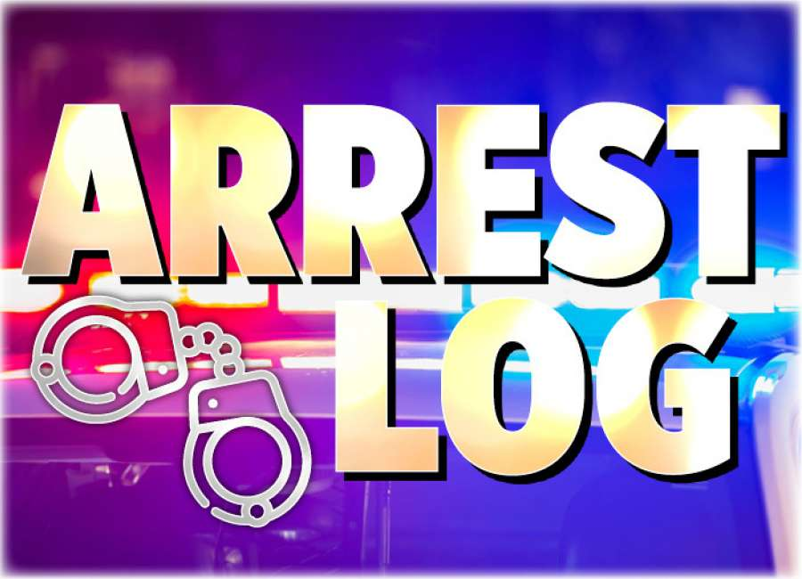 Arrest Log: Aug. 30 - Sept. 5