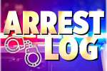 Arrest Log: Dec. 28 - Jan. 3