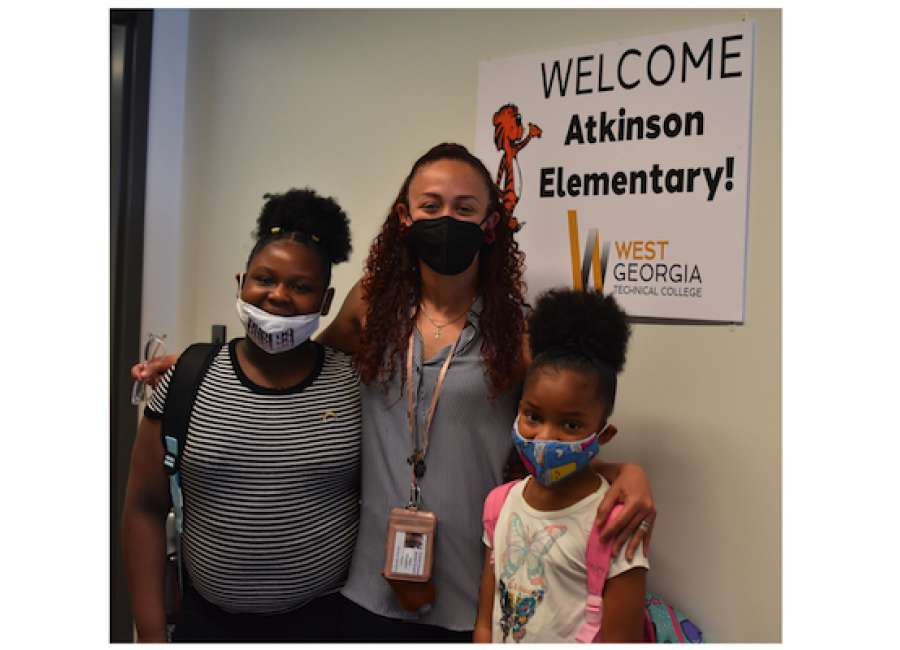 Atkinson Elementary goes to college