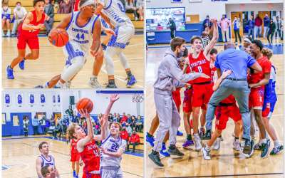 Banks' buzzer-beater seals win for Heritage