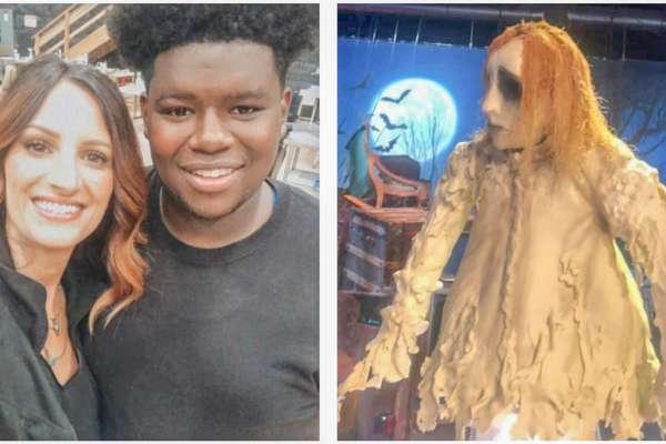 Bedingfield hangs on in 'Halloween Wars'