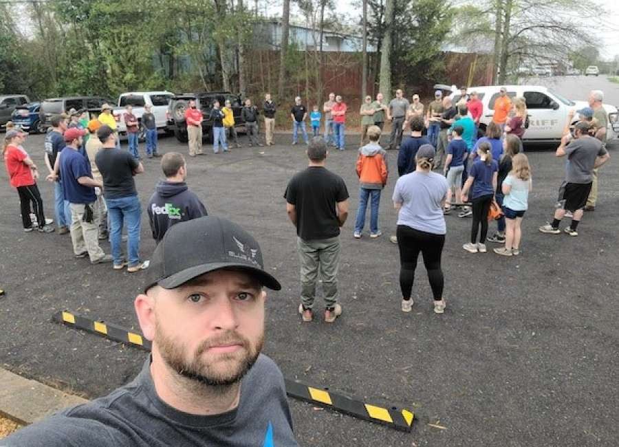 Blue Alpha works with sheriff's office to coordinate volunteers