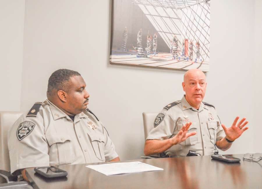 Jail bookings up dramatically, population remains manageable