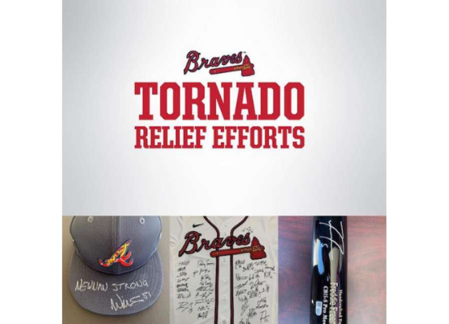 Braves player, Newnan native sets up auction for tornado relief