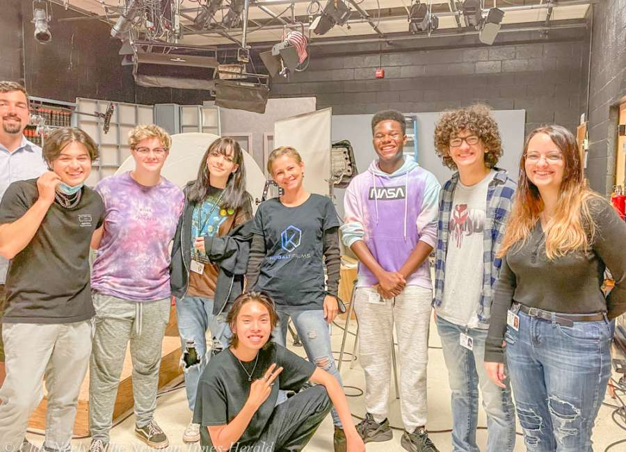 CEC students assist with professional documentary