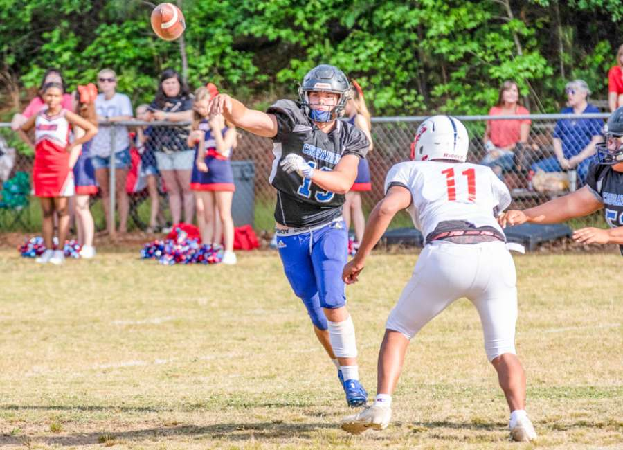 Central Christian completes spring drills