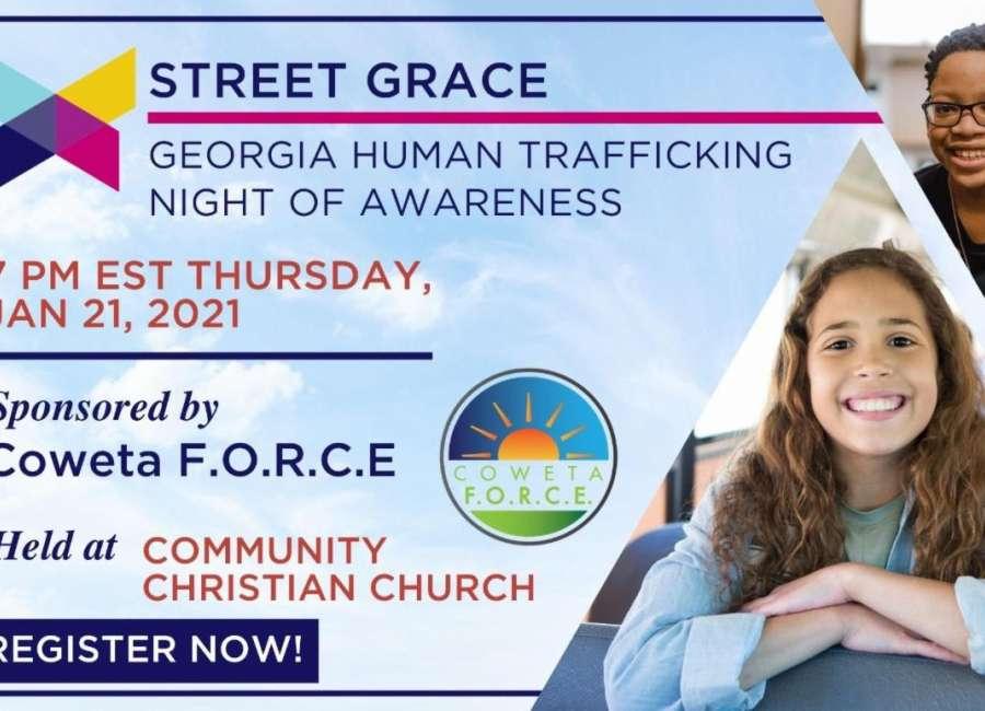 Child trafficking Night of Awareness Jan. 21