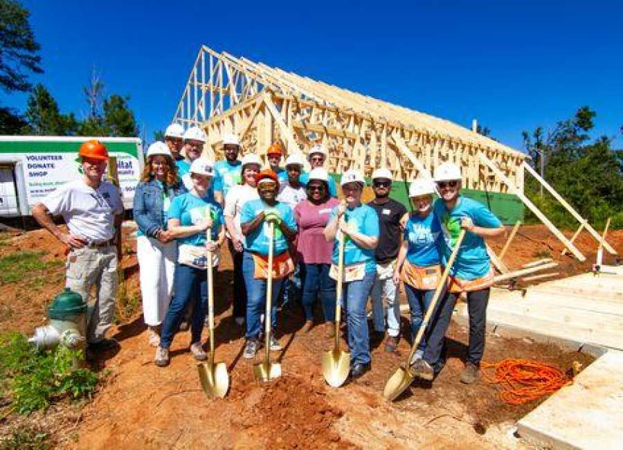 Construction begins on Habitat For Humanity housing development