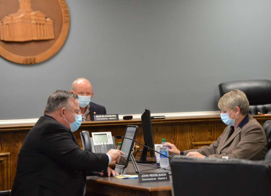 County hires grant writing company for fire department