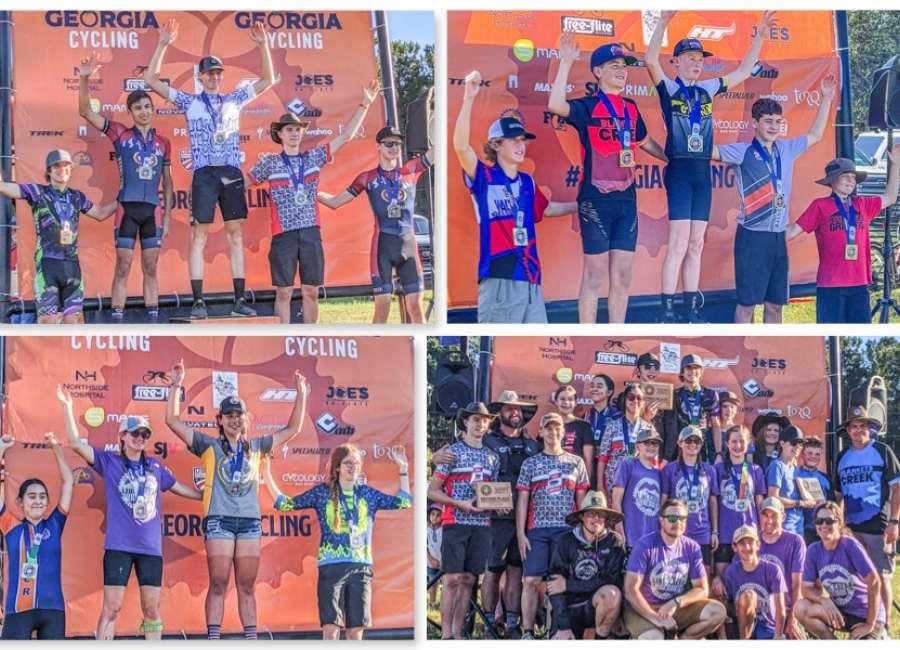 Coweta prep mountain biking teams field winners at Dauset Trails