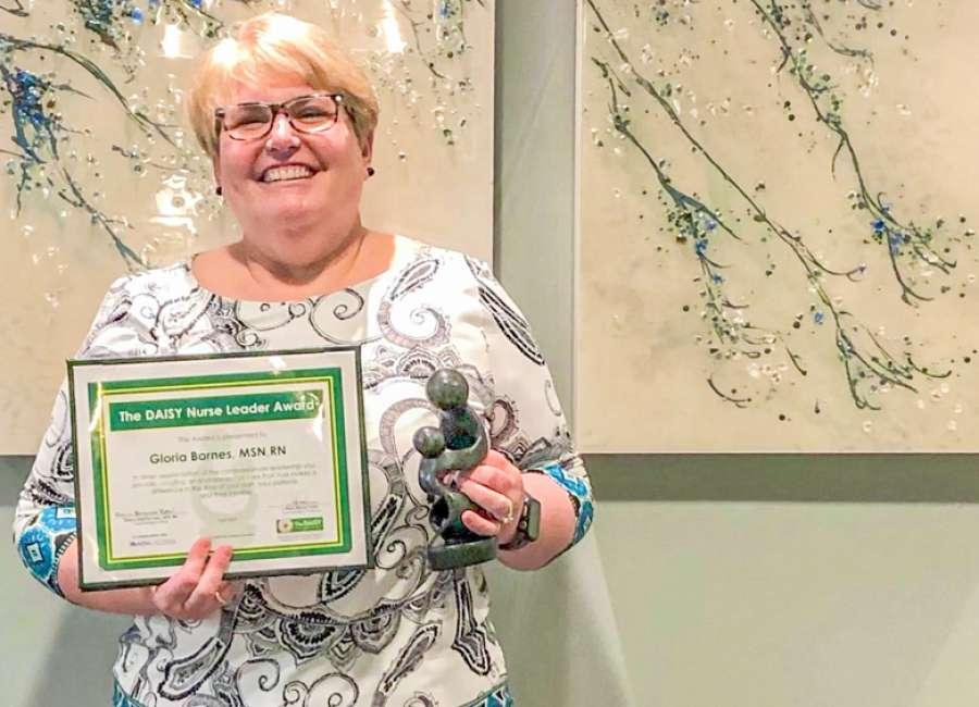 CTCA nurse leader receives prestigious DAISY Award