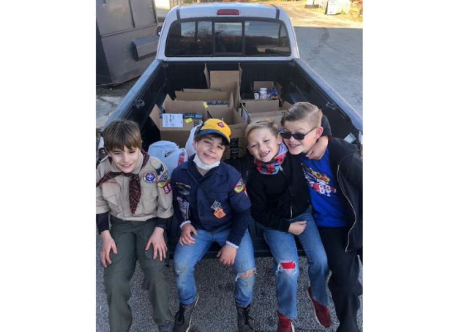 Cub Scout pack hosting 'Scouting for Food' March 7
