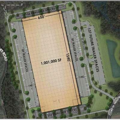 Developer plans 1 million-square-foot logistics facility