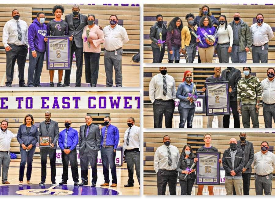 East Coweta celebrates wins and seniors