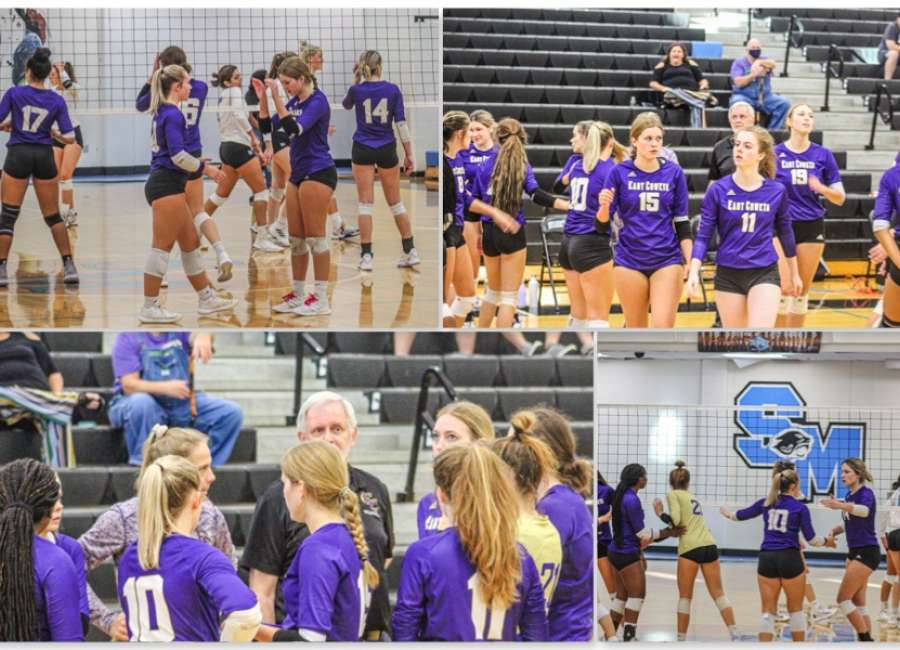 East Coweta gets a sweep on the road