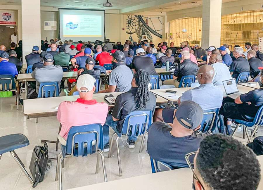 East Coweta hosts Georgia high school football officials for clinic