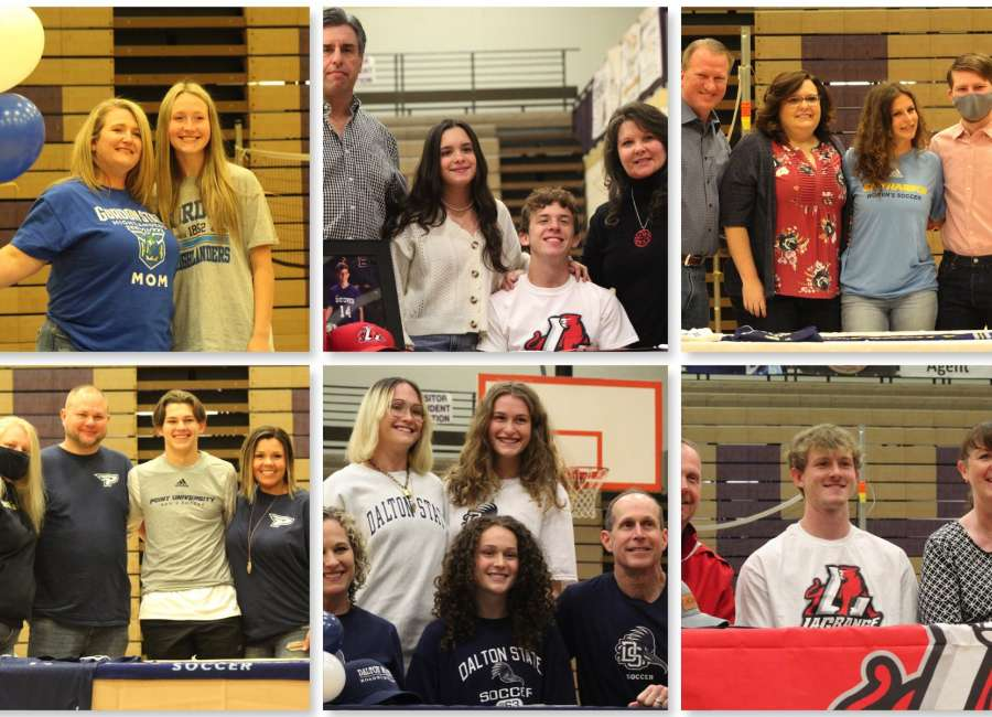 East Coweta soccer players sign with colleges