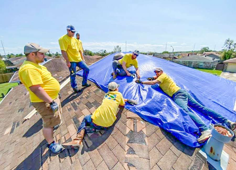 Faith in action: Church members volunteer for Hurricane Ida cleanup