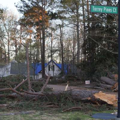 Fees waived at landfill for storm debris through April 25