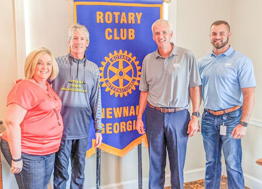 Fishing therapy for veterans subject of Rotary Club presentation