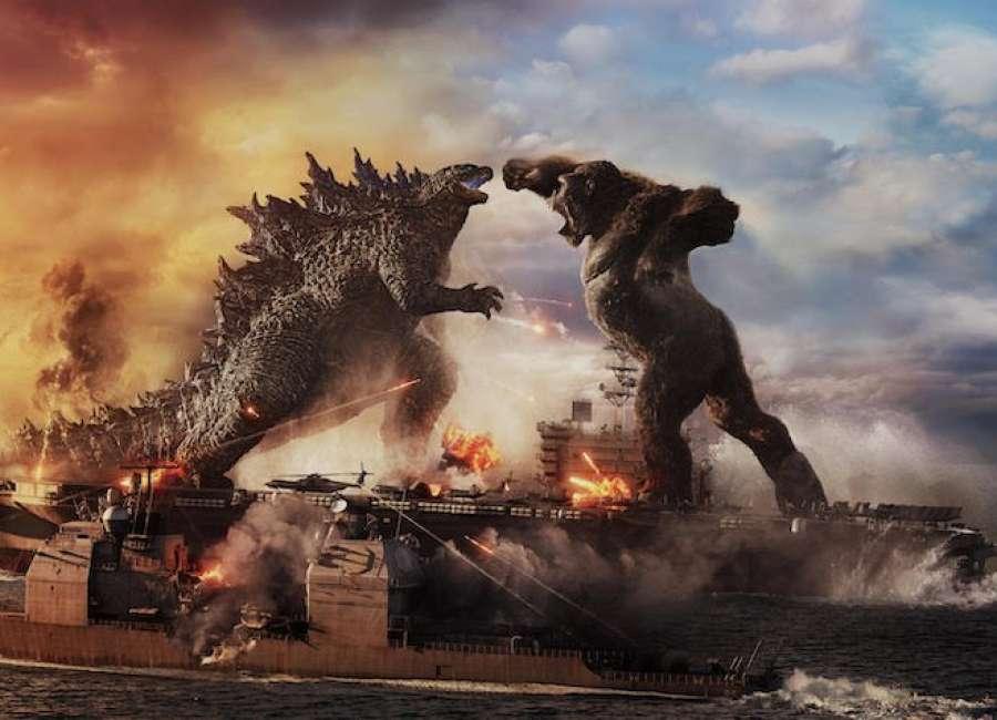 Godzilla vs. Kong: The tornado review, in Newnan, titans exist
