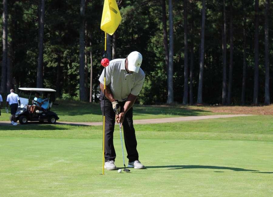 Golf event raises cash for NHS basketball staff