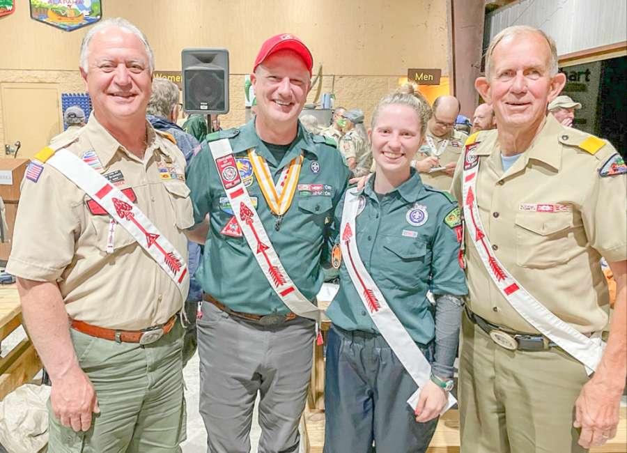Harper receives national Boy Scouting award