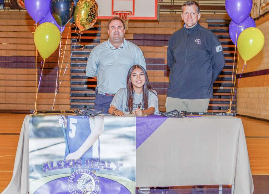Healy signs with Oglethorpe lacrosse