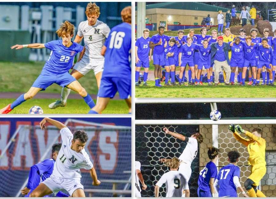 Heritage Hawks get dramatic soccer win against Newnan