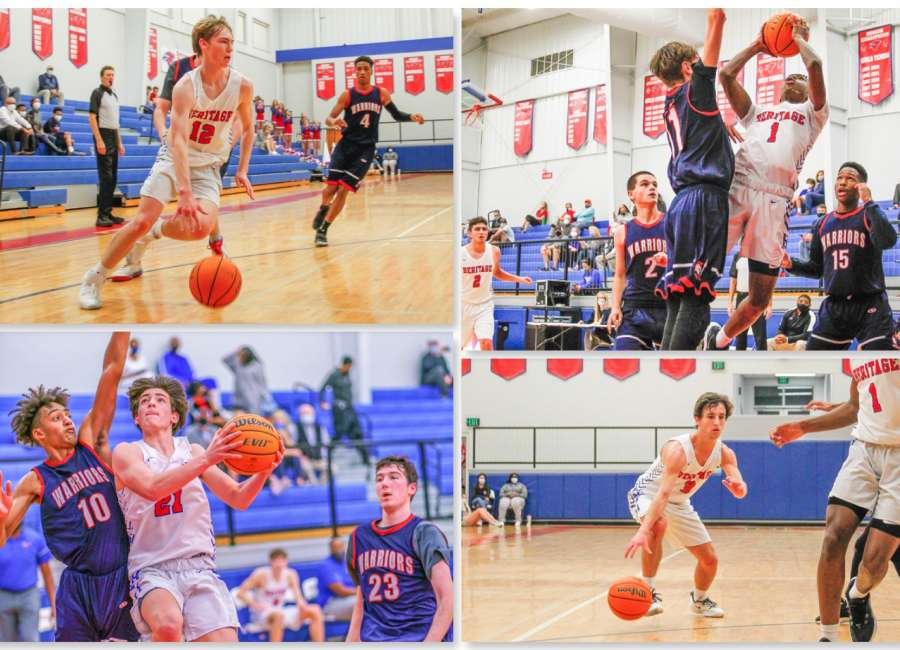 Heritage Hawks win second in a row at home