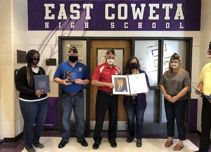 High school teacher wins at VFW state level