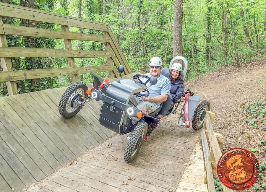 Historic Banning Mills to offer Eco-Spider ATV Tours