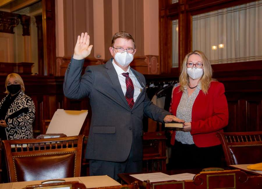 Jenkins sworn in at state capitol