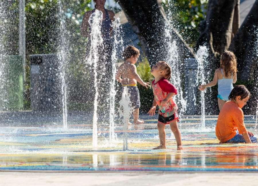Kids Castle and splash pad reopen at Carl Miller Park