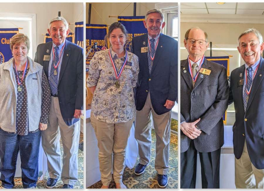 Kiwanis recognized with Outstanding Leadership awards