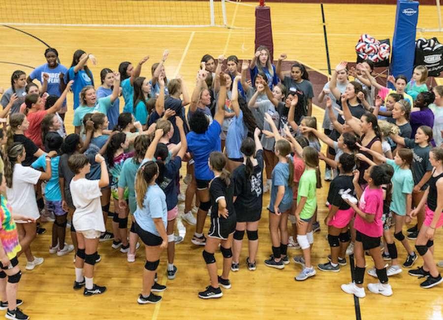 Lady Vikings host junior volleyball camp at Northgate