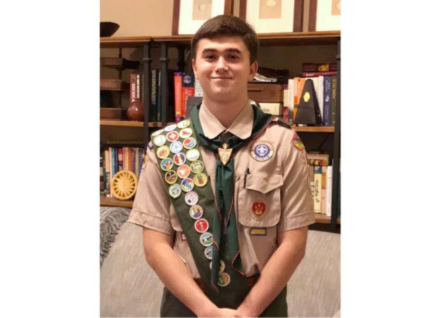 Landmark senior earns Eagle Scout rank