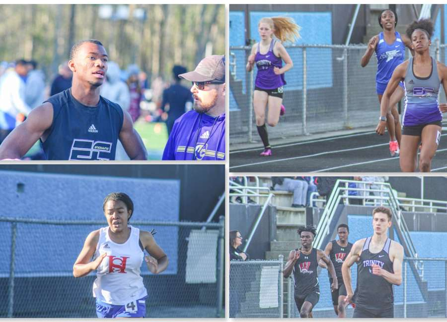 Local athletes participate at Friday Night Lights track meet