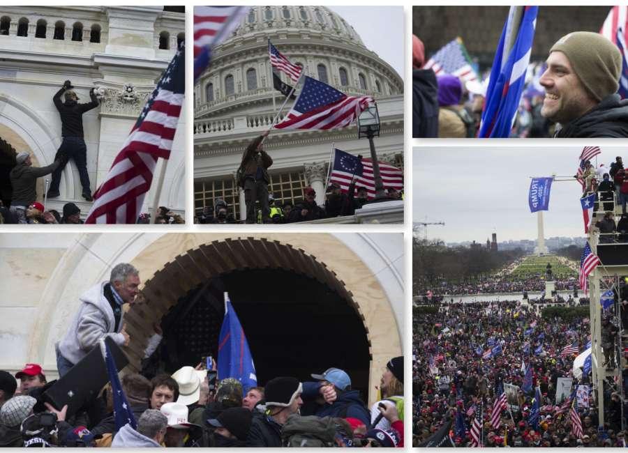 Newnan resident captures Capitol chaos